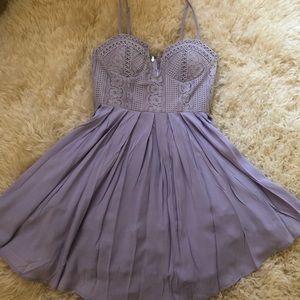 Angel Biba purple romper